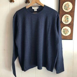 Fine Merino Wool Knit Sweater